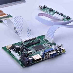 Image 5 - 8inch screen car LCD driver board HD HDMI for Raspberry pie display kit 4:3 1024X768