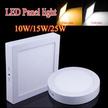 Круглый/площадь поверхностного драйвер монтажа потолочный ac панели светильник кухня светодиодный светодиодные
