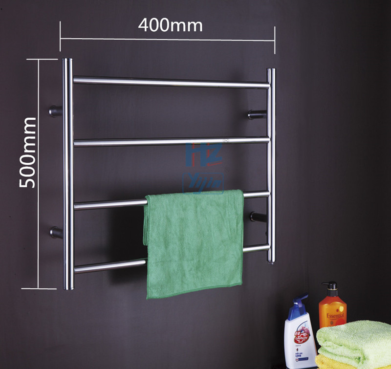 Big Size Stainless Towel Warmer Heated Towel Rack: Bathroom Small Size Towel Warmer Stainless Steel 304 Wall