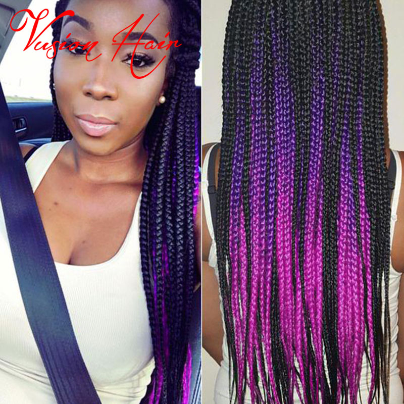 Top Sale Ombre Kanekalon Braiding Hair Crochet Hair