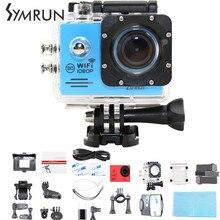 Symrun SJ4000 Водонепроницаемый Wi-Fi Камера Действий 30 М Дайвинг Водонепроницаемая Камера Full Hd 1080 P Спорт Dv SJ4000 Водонепроницаемый