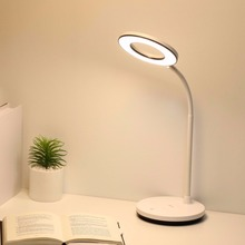 YAGE 1200mAh Battery Ring White-Warm-Nature Light Led Table Lamp USB Desk Lamp Stepless Dimming Touch Desk Light Hose Table Lamp