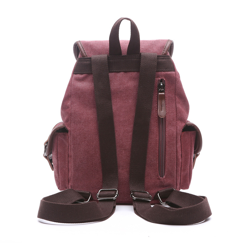 Image 4 - Scione Multifunction Canvas Backpack Drawstring Large Capacity Backpack Men Women Travel Rucksack School Shoulder Bag Mochilabag mochilacanvas backpack drawstringlarge capacity backpack -
