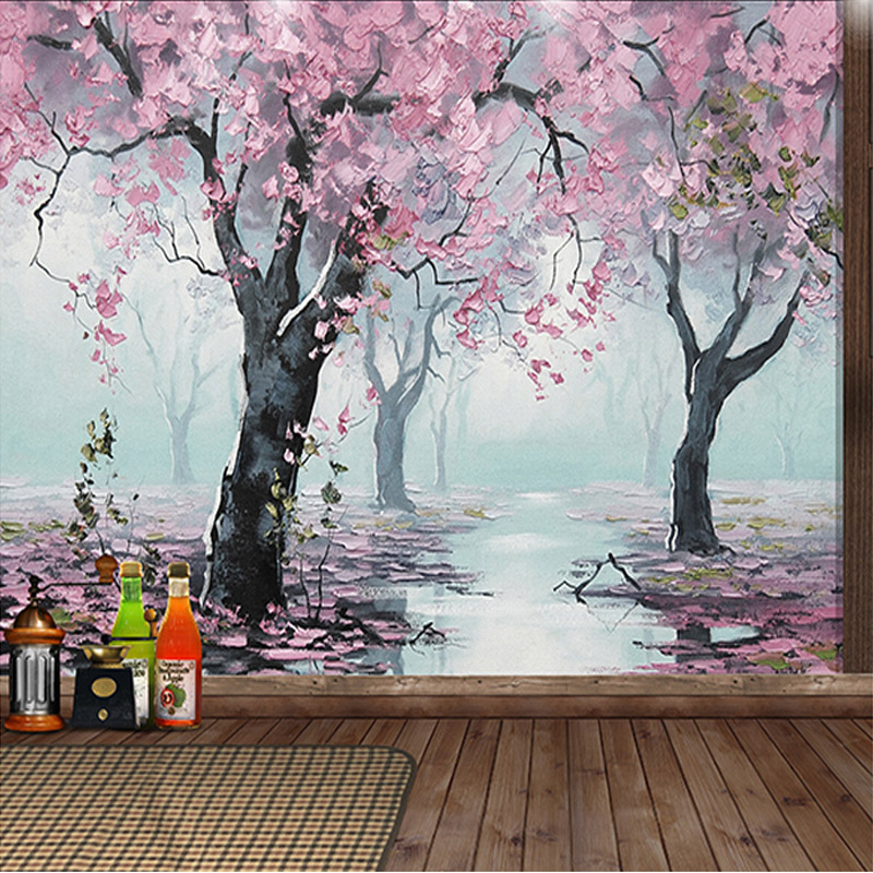Custom size 3d mural wallpapers 3d room wallpaper for Mural 3d wallpaper