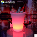 LED ice bucket bar two Angle plastic waterproof super tough younger champagne barrel of wine rack flowerpot fruit bowl
