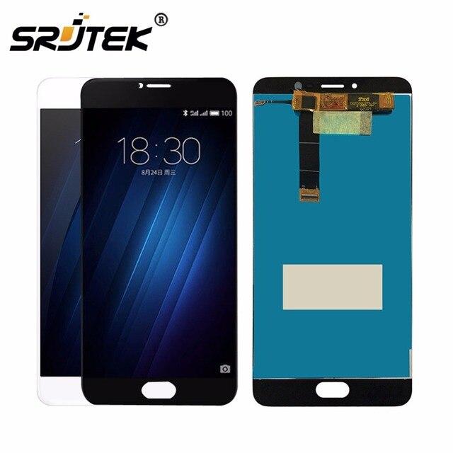 Srjtek для Meizu U20 Сенсорный экран планшета + ЖК-дисплей Дисплей для Meizu U20 5.5 дюймов телефона черный/белый цвет Цвет