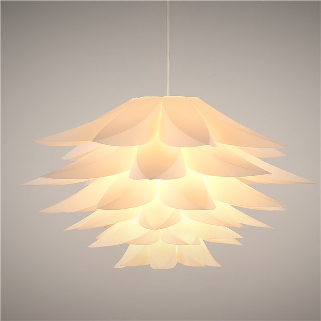 Modern lampwin led pendant light home decoration diy 45cm puzzle modern lampwin led pendant light home decoration diy 45cm puzzle lotus flower lamp shade kit livingroom aloadofball Choice Image