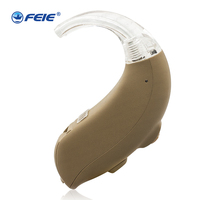 Open Fit Hearing Aid 4 Channels BTE Hearing Aids Ear Care Sound Amplifier High Powerful Feedback