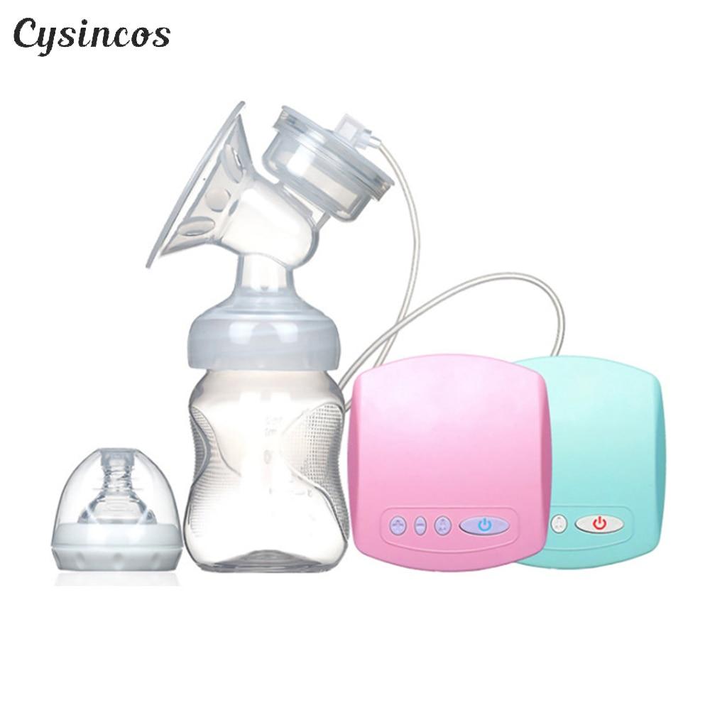 CISINCOS 2019 Intelligent Automatic Electric Breast Pumps Nipple Suction Milk Pump Breast Feeding USB Electric Breast Pump