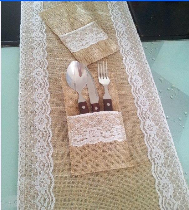 buy 30x270cm x burlap wedding table. Black Bedroom Furniture Sets. Home Design Ideas