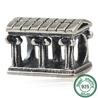 Olympic House Charms 100% 925 Sterling Silver Charms fits Pandora Charm DIY Bracelets for Women Gift