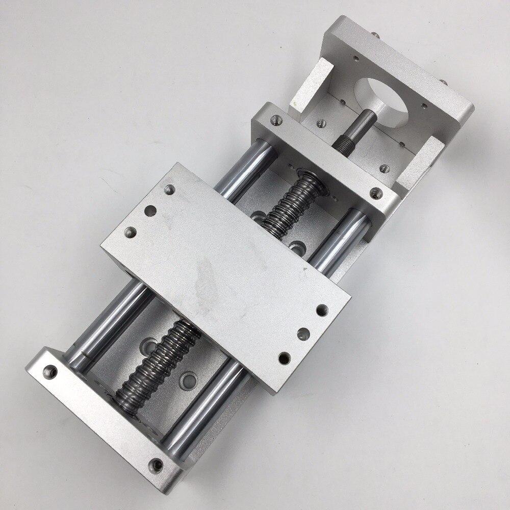 Stroke L500mm Electric Sliding Table Cross Slide Linear Stage SFU1605 Ballscrew CNC Working Table