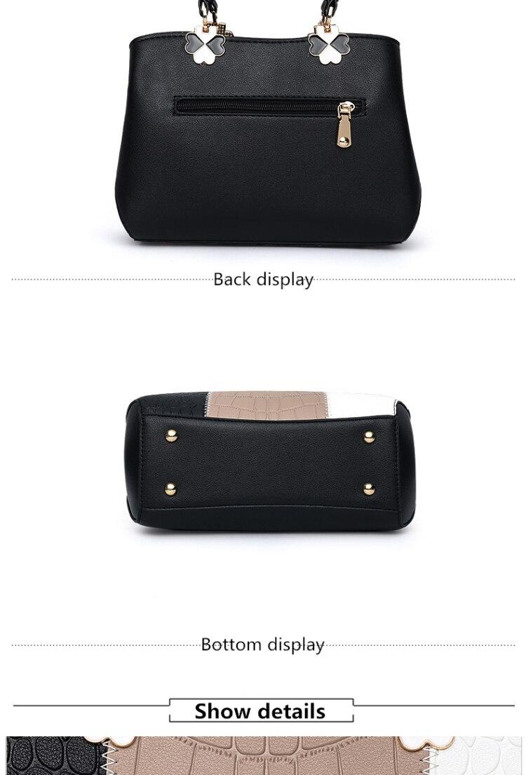 compras bolsa de ombro das mulheres