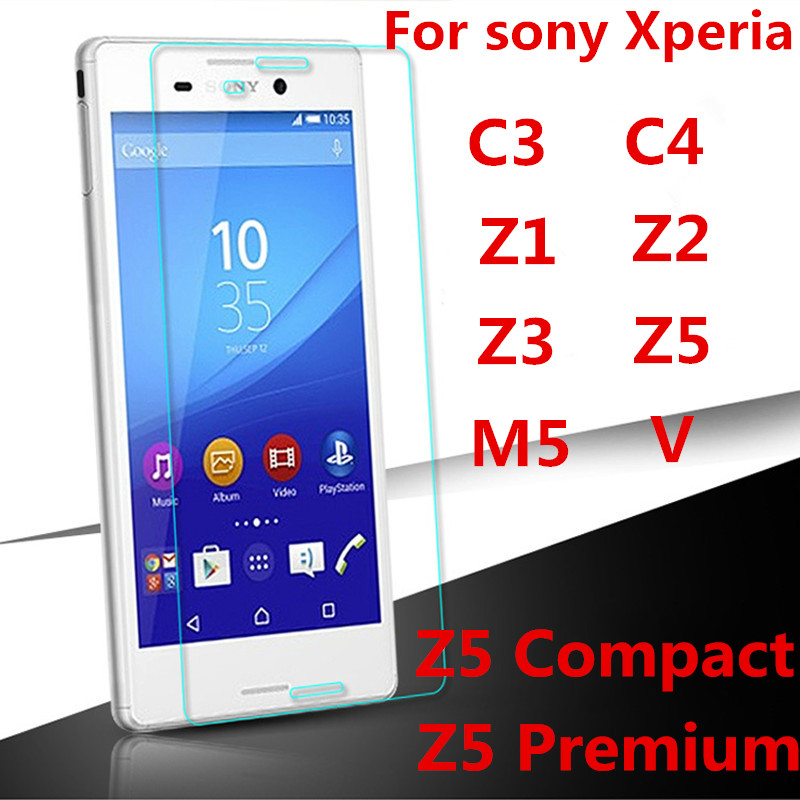 2016 Screen Protector Film Front Premium Tempered Glass For s