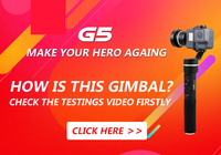FeiyuTech Fy G5 3 Axis Handheld Gimbal Splashproof For GoPro HERO5 4 3 3 Xiaomi Yi