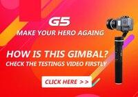 FeiyuTech Fy G5 3 Axis Handheld Gimbal Splashproof For GoPro HERO5 4 3 3 Xiaomi Yi
