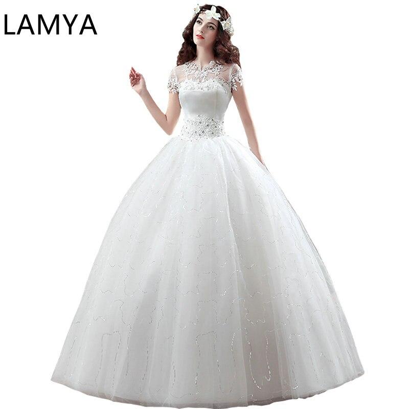 Top Sale Wedding Dresses 2019 Lace High Quality Bridal