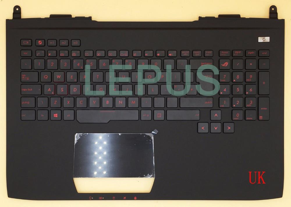 Новости клавиатура для ASUS ROG 751J G751 G751JY G751JT G751JM русская/английская/словенская/Сборная - Цвет: Коричневый