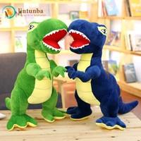 Tyrannosaurus doll Dinosaur plush toy cute Stuffed toy figurine doll for Children toy Baby Birthday gift 60cm