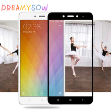 DREAMYSOW Real Tempered Glass For Xiaomi Redmi Y1 4X 4A 4 pro 3 Note 4X 4 3 Full Coverage Screen Protective Toughened Glass