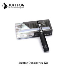 Electronic Cigarette JUSTFOG Q16 STARTER KIT With J-Easy 9 Battery JUSTFOG Q16 Clearomizer Atomizer VS Justfog Minifit Vape pen(China)