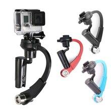 Стабилизатор Мини Ручной Стабилизатор устойчивый для Камера для GoPro Hero HD 5 4 3 + 3 2 1 Sj4000 для xiaomi Yi Бесплатная доставка