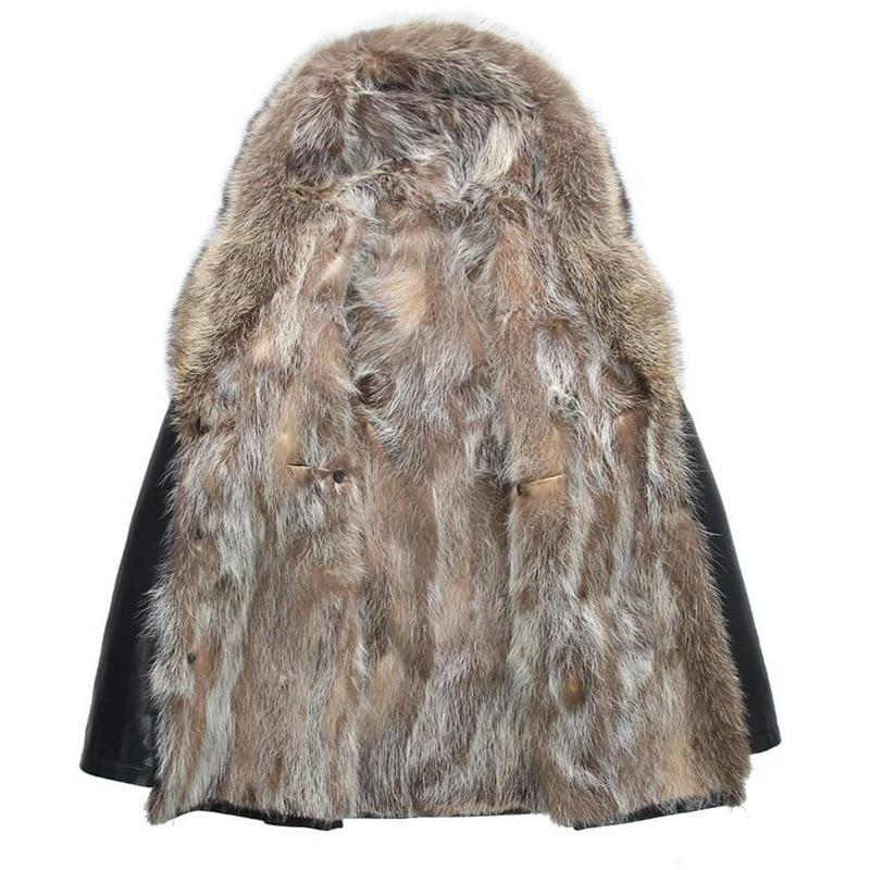 Hot High quality winter men`s coat warm jacket Retro men`s leather jacket Plus velvet motorcycle windproof PU leather