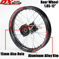 "1.85x12"" inch Pit Bike Rear Wheels For KAYO BSE Apollo Xmotos CRF50 CRF70 KLX110 TTR110 125 140 160cc Dirt Bike MX Spare Parts"
