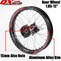 "1.85x12"" inch Pit Bike Rear Wheels For KAYO BSE Apollo Xmotos CRF50 CRF70 KLX110 TTR110 125 140 160cc Dirt Bike MX Spare Parts"