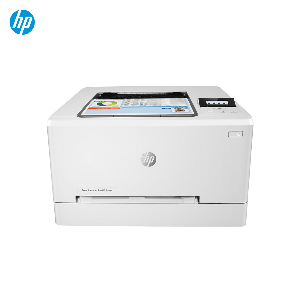 Принтер hp LaserJet Цвет LaserJet Pro M254nw, лазер, Цвет, 600x600 Точек на дюйм, A4, 250 листов, 21 стр./мин