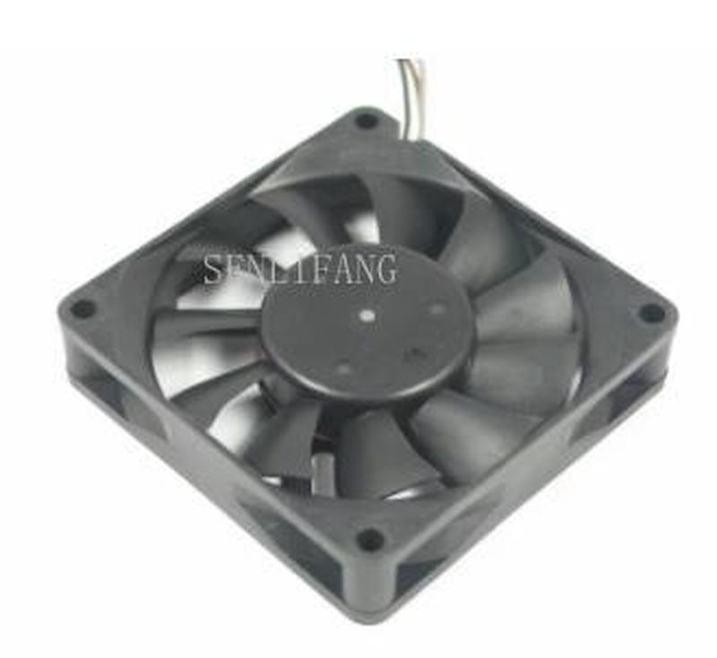 For D07R-12TS14 01B DC 12V 0.12A 70x70x15mm Server Square Fan