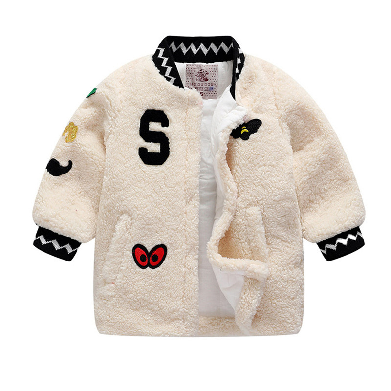 New Winter Baby Girls Clothes Outfit Faux Fur Fleece Coat Children Girls Warm Jacket Xmas Snowsuit Girls Thick Jacket Outerwear ztov boys girls snowsuit cute cartoon warm thick baby boy winter coat kid girls down jacket and pants children clothes outerwear