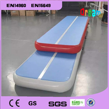 Free Shipping 3x1x0.2m Inflatable Tumble AirTrack Gymnastics Inflatable Air Mat Trampoline Air Track Mat Come With a Blower недорого