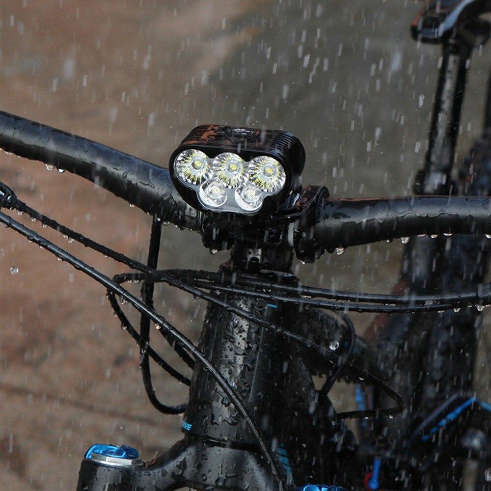 Magicshine Monteer 6500 lumière de vélo de descente 6500 lumens lumière de montagne lumière de route vélo LED étanche lampe de poche USB