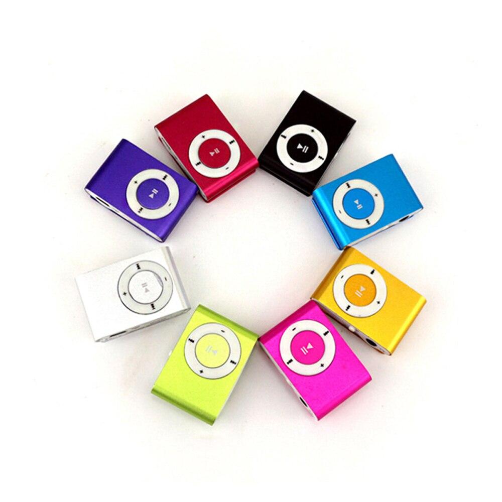 Мини портативный MP3 музыкальный плеер мини портативный клип MP3 музыкальный плеер водонепроницаемый спортивный мини клип Mp3 музыкальный пле...