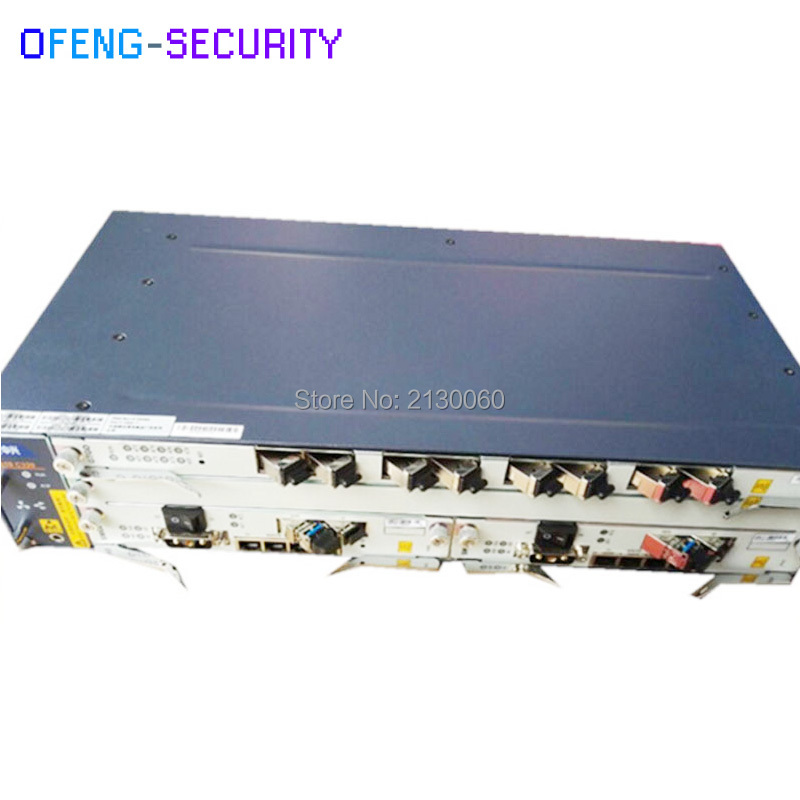 Fibra Olt ZTE C320 GPON EPON OLT 10GE Optical Line Terminal 1*SMXA/3 1*PRAM(AC Power) + 1pcs GTGH C++ SFP