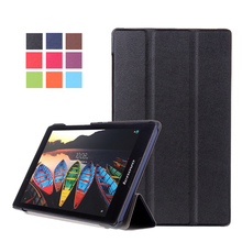 "Case For Lenovo Tab2 TAB 2 A8-50F 50LC eight"" Sensible cowl Protecting Leather-based tab2 A8-50 A8-50LC eight inch Pill PC PU Protector Sleeve"