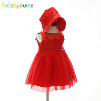 2Piece Sets Christmas Clothes Newborn Baby Girls First Birthday Outfits Party Wedding Dress Princess Lace Baptism Dresses BC1807