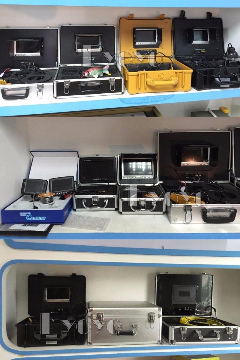 Самый! Eyoyo 15м камера рыбоискатель подводная рыбалка 1000TVL подледный лов запись видео DVR 8 инфракрасные светодиоды+солнцезащитный козырекr+ 4G TF карта