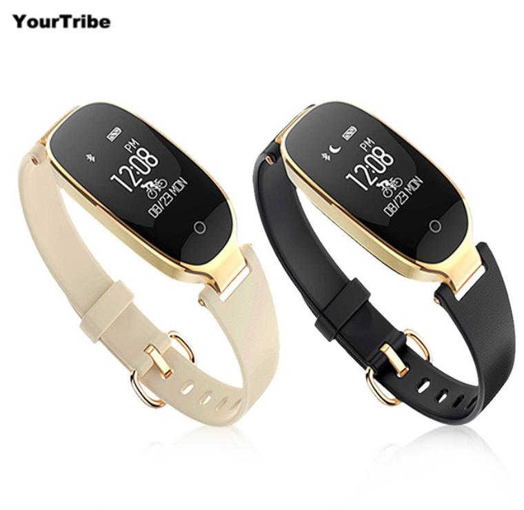 S3 Smart Bracelet Heart Rate font b Monitor b font Alarm Clock Waterproof Fitness Watch Tracker
