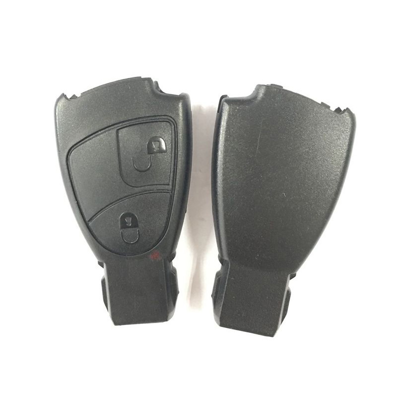NEW REPLACEMENT Shell Smart Remote Key Case Fob 2 Buttons For For Benz E C R CL GL SL CLK SLK Class