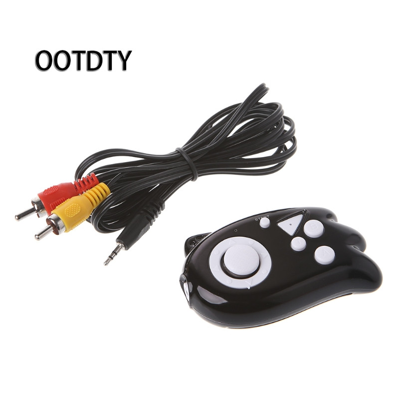 OOTDTY Game Accessories Mini Video Gaming Console 8 Bit Built-In 89 Classic Games TV Output Game Player