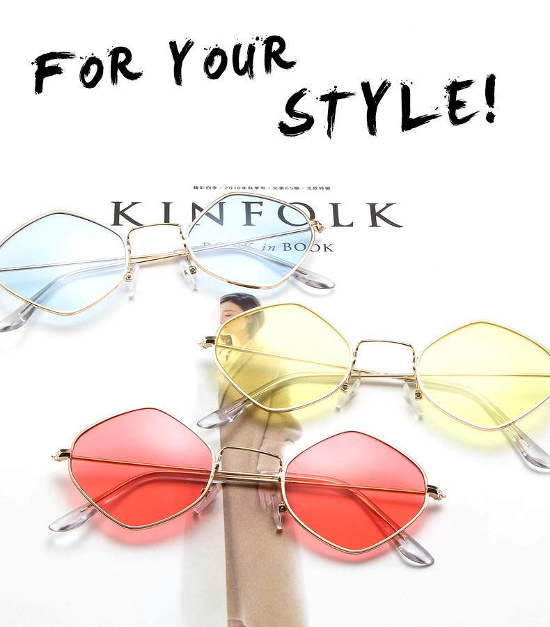 HTB14GxASpXXXXaeXFXXq6xXFXXX4 - Rhombus Metal Framed Sunglasses Retro Small Size Lens PTC 223