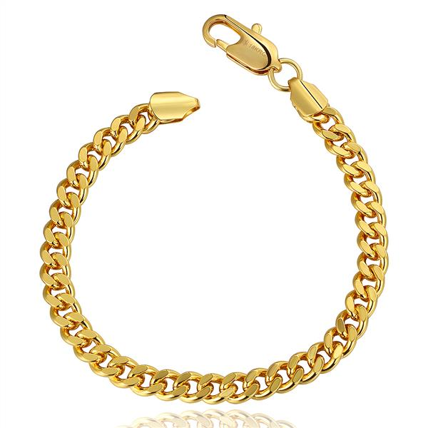 18k Gold Bracelets For Women Bracelet Jewelry Bangle Men Rings In Chain Link From Accessories