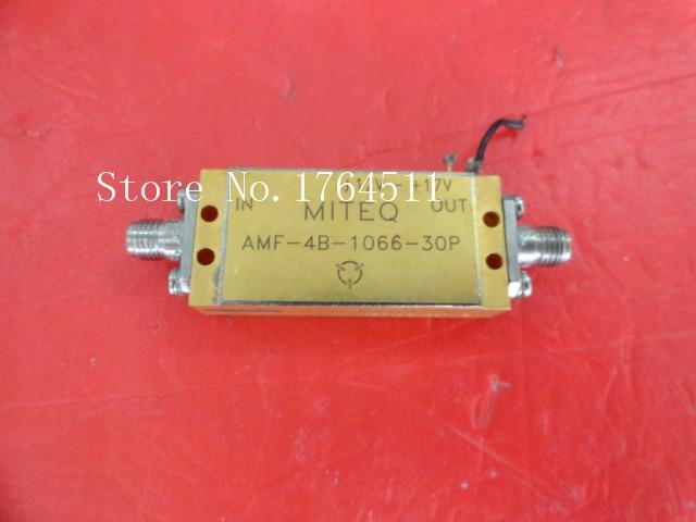 [BELLA] MITEQ AMF-4B-1066-30P 12-17V SMA Supply Amplifier