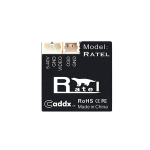 Image 5 - Caddx Ratel Baby/Ratel 1/1.8 Starlight HDR OSD 1200TVL NTSC/ PAL 16:9/4:3 Switchable 1.66mm/2.1mm Lens FPV Camera For RC Drone