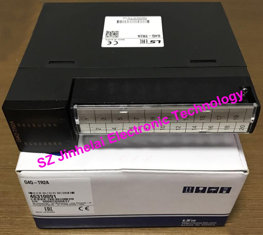 100% New and original G4Q-TR2A  LS(LG)   PLC output unit,Tr.(NPN Type) Output 16 points(DC12/24V 0.5A)100% New and original G4Q-TR2A  LS(LG)   PLC output unit,Tr.(NPN Type) Output 16 points(DC12/24V 0.5A)