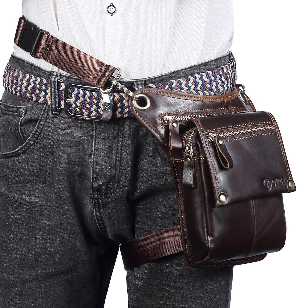 Мужские сумки на пояс из натуральной кожи, сумки мессенджеры через плечо, забавные Сумки на пояс, многофункциональные мужские сумки для путешествий, 6369