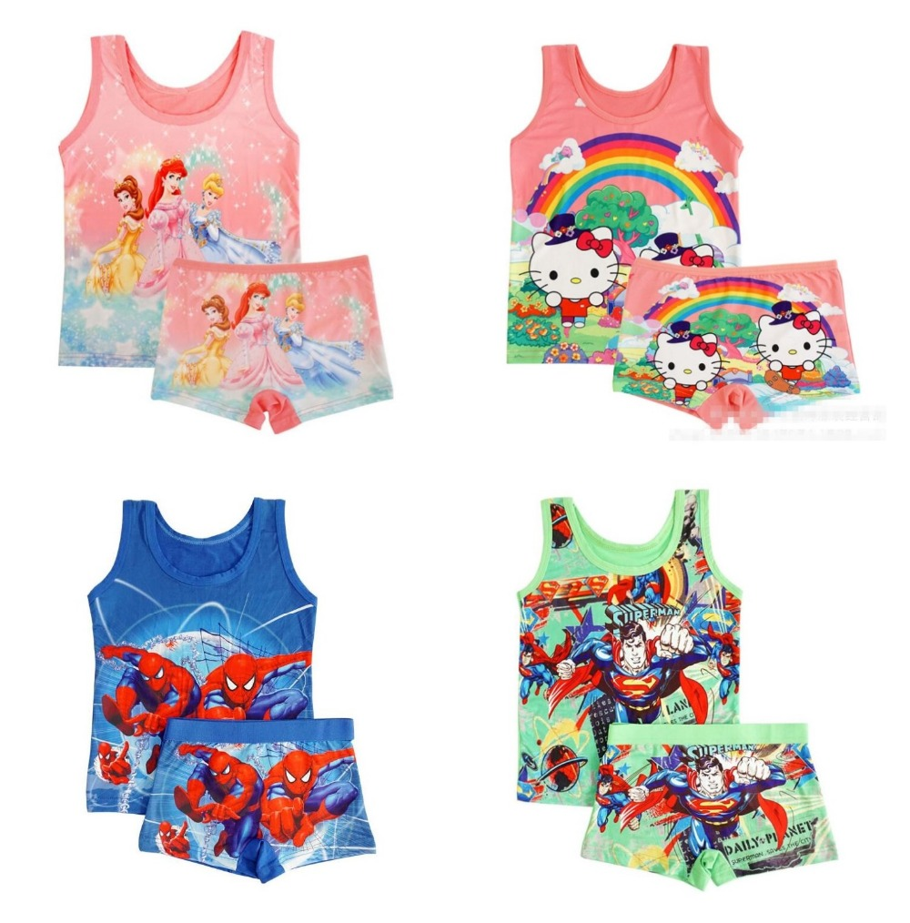 Forceful Summer Children Girls Boy Beach Set Casual Girl Boy Milk Silk Princess Vest Clothing Sets Short Pants 5color Randomly Tz07 Good For Energy And The Spleen