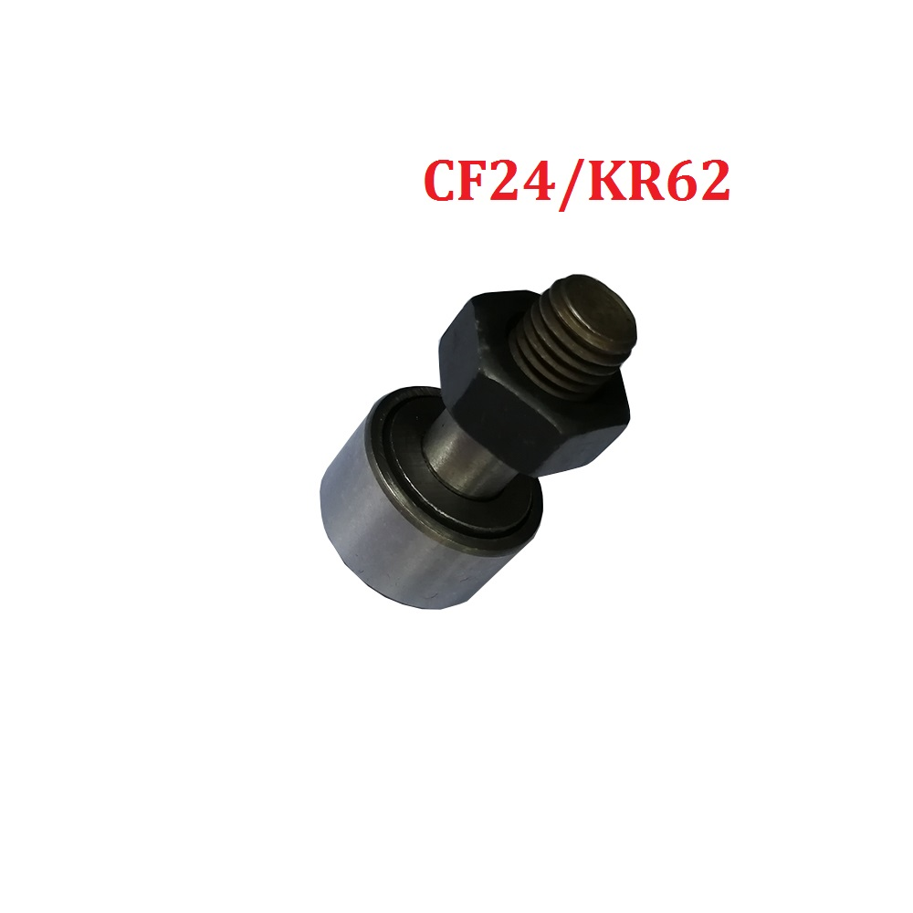 1pcs KR62 KRV62 CF24 Cam Follower Needle Roller Bearing M24X1.5mm Wheel And Pin Bearing купить недорого в Москве